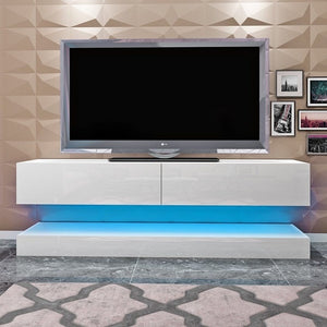 floating tv cabinet high