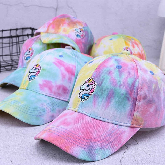 Unicorn baseball caps