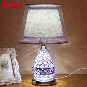 Luxurious Crystal table lamps