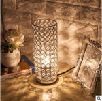 Modern Table Light Crystal LED Lamps
