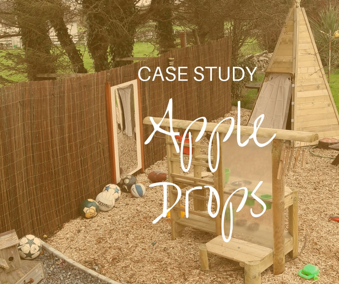 Apple Drops Natural Outdoor Play Area