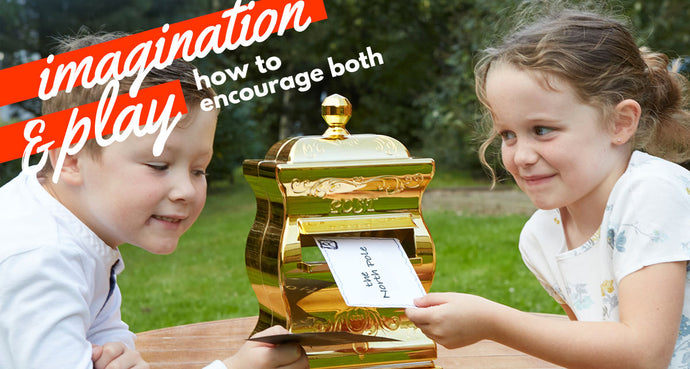 Imagination & Play – How to facilitate both
