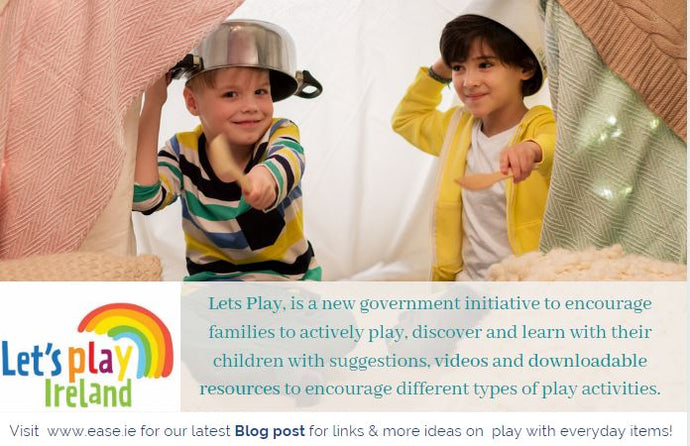 "Government launches ""Lets Play Ireland"""