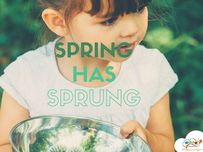 Spring into Natural Outdoor Play