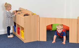 Baby Corner Partitioning