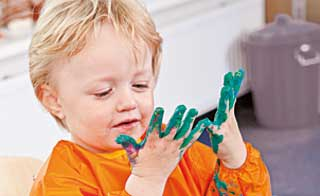 Messy Home Play
