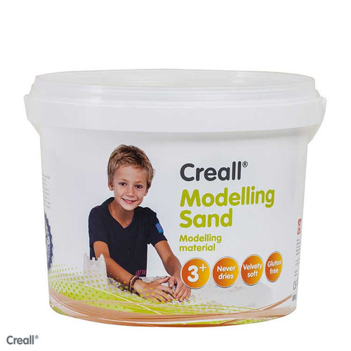 Creall Modelling Sand in 5 colours