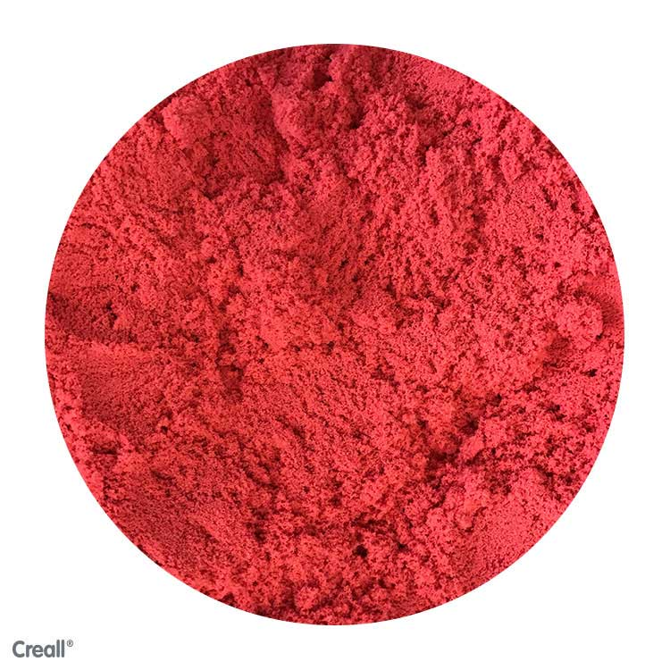 Creall Modelling Sand - 750g Red