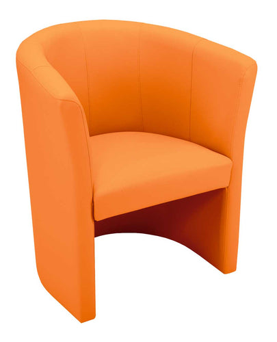 Classic Tub Chair - Orange