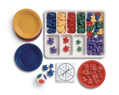 Three Bear Family Sort and Pattern Play Set