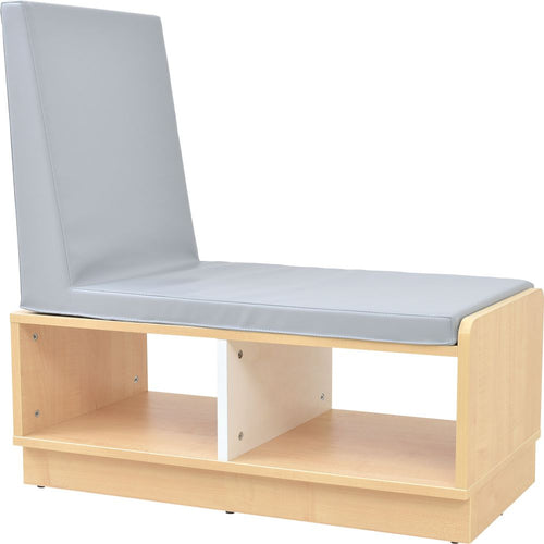 Quadro - low cabinet with seat