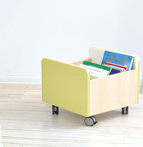 Quadro - medium container on wheels - lime