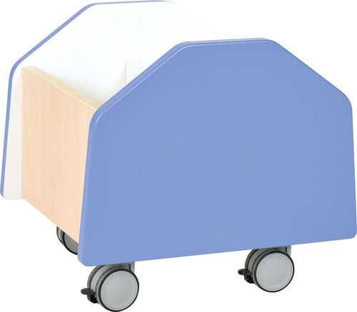 Quadro - small container on wheels - blue