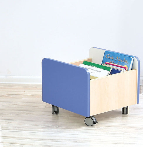 Quadro - medium container on wheels - blue