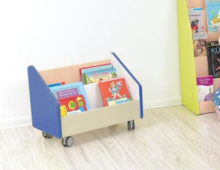Quadro - big container on wheels - blue