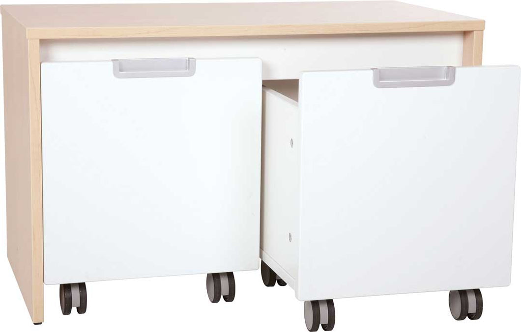 Quadro Bench for 2 containers