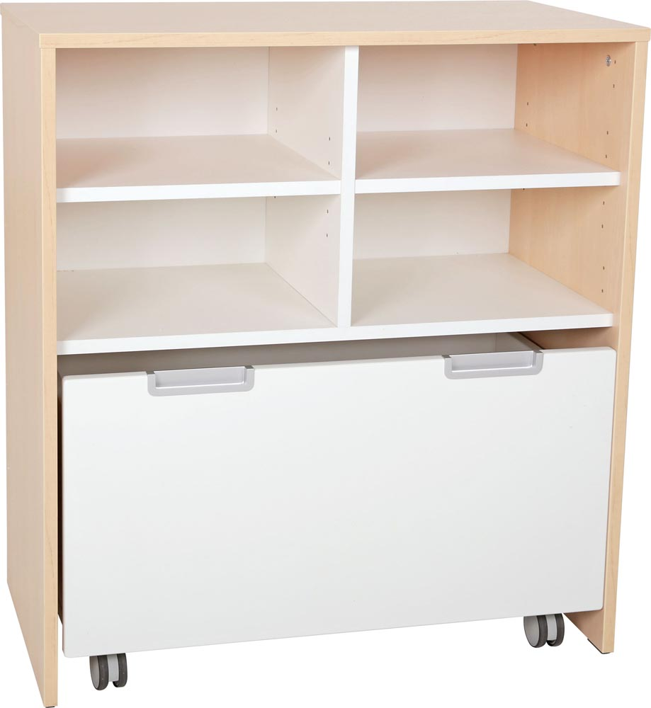 Quadro Cabinet  and Large container