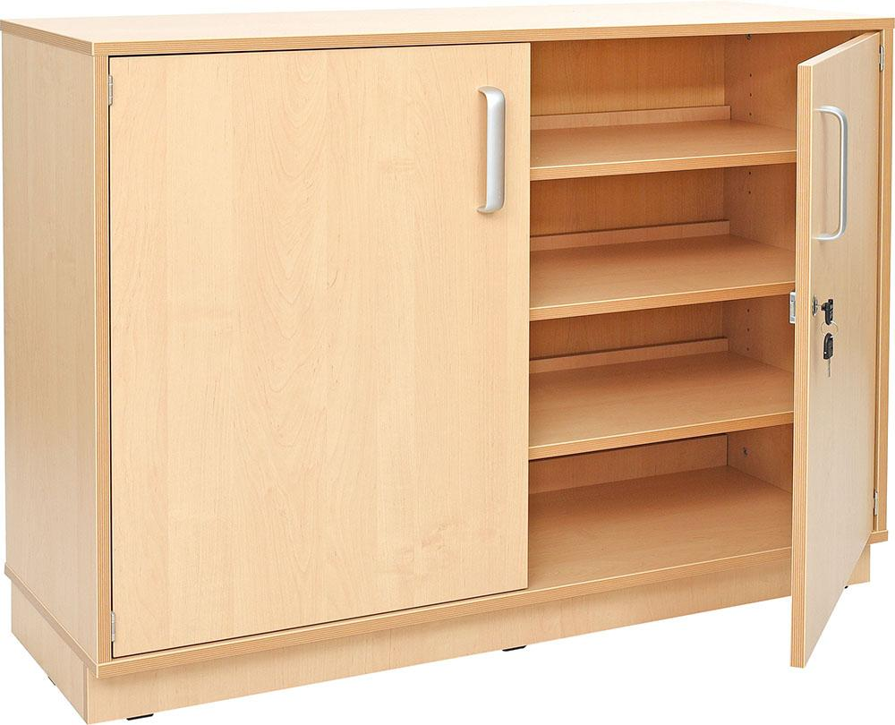 Medium Cabinet  Wide with Castors H87cm