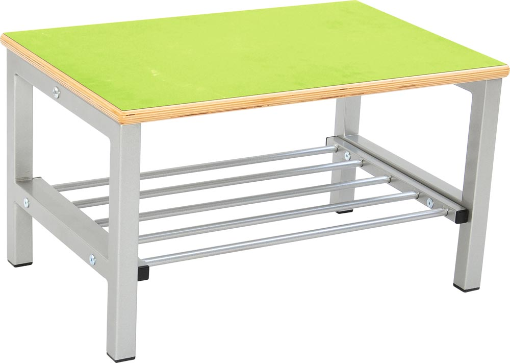Flexi Bench for Cloakroom 2, height 35cm - Green