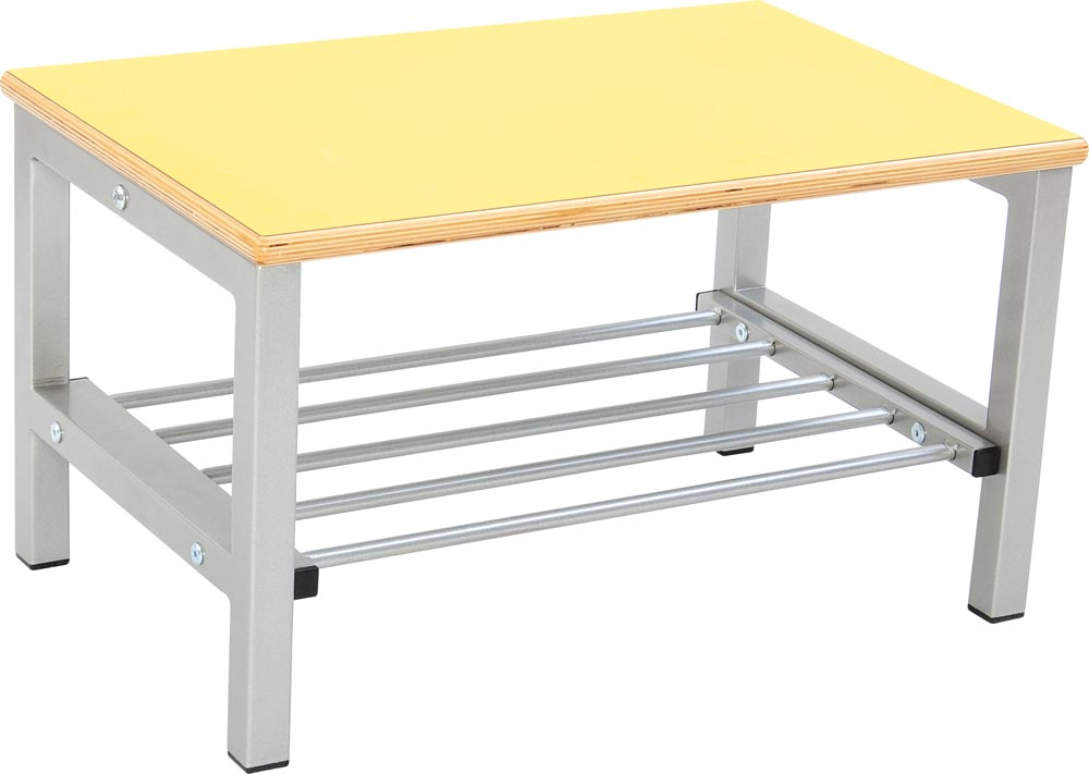 Flexi Bench for Cloakroom 2, height 26cm - Yellow