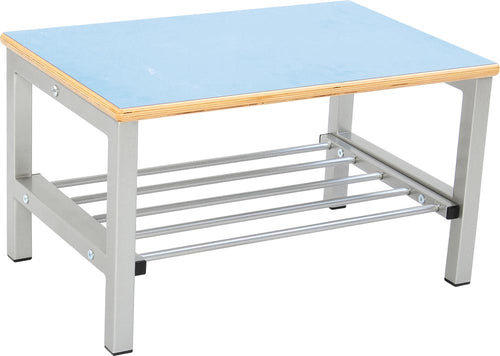 Flexi Bench for Cloakroom 2, height 26cm - Blue
