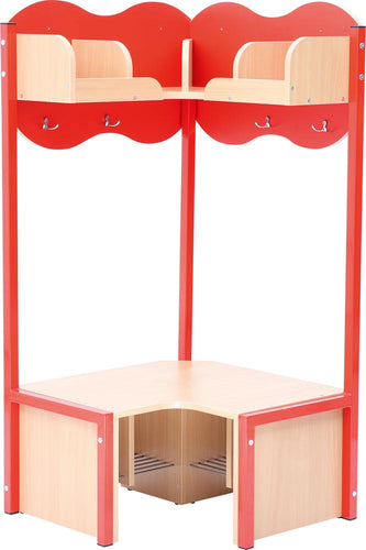 Cloud Corner Cloakroom - Red