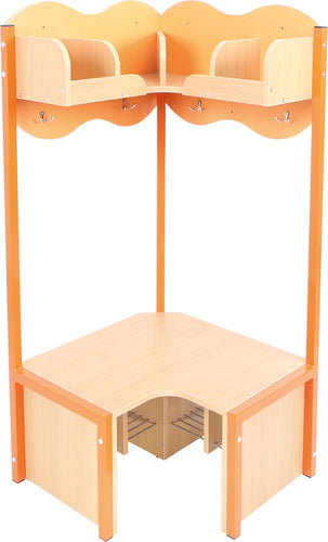 Cloud Corner Cloakroom - Orange