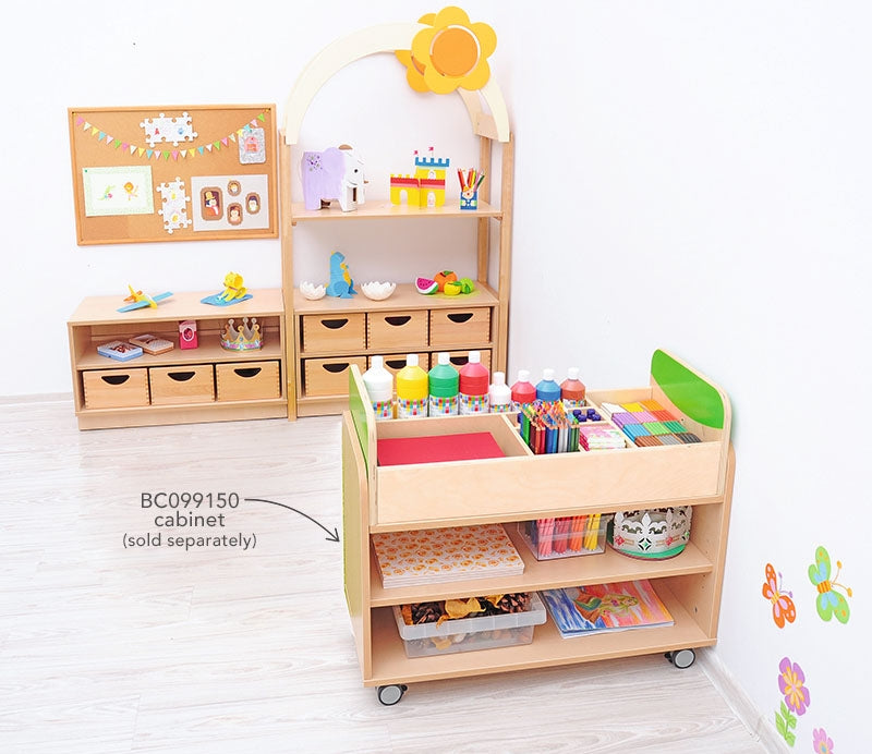 Organiser  for Movable Cabinet