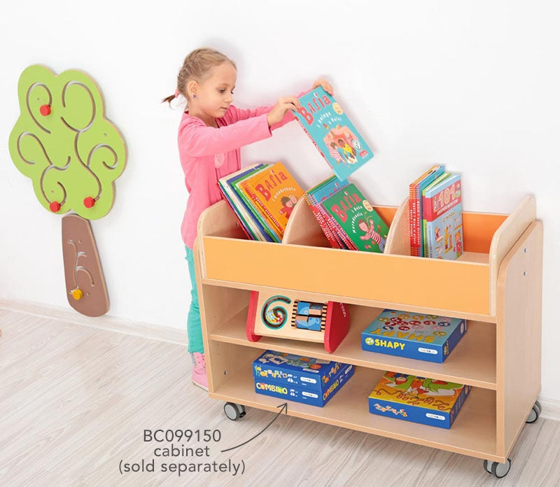 Bookcase  for Movable Cabinet