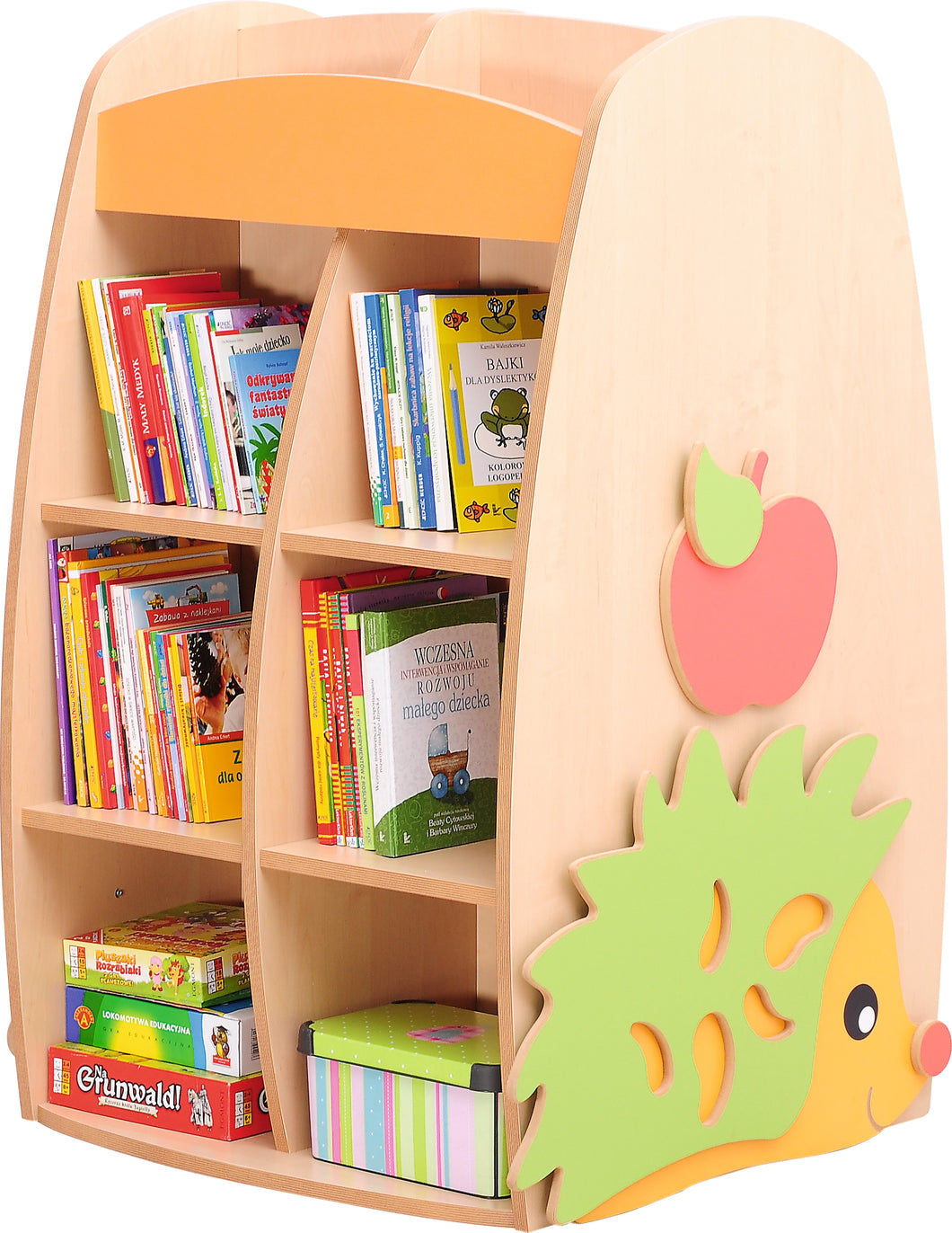 Hedgehog Double Sided Bookcase