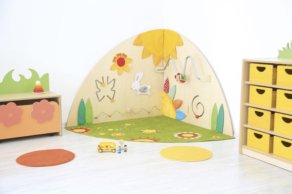 Special Two piece Meadow Manipulative Corner & Carpet