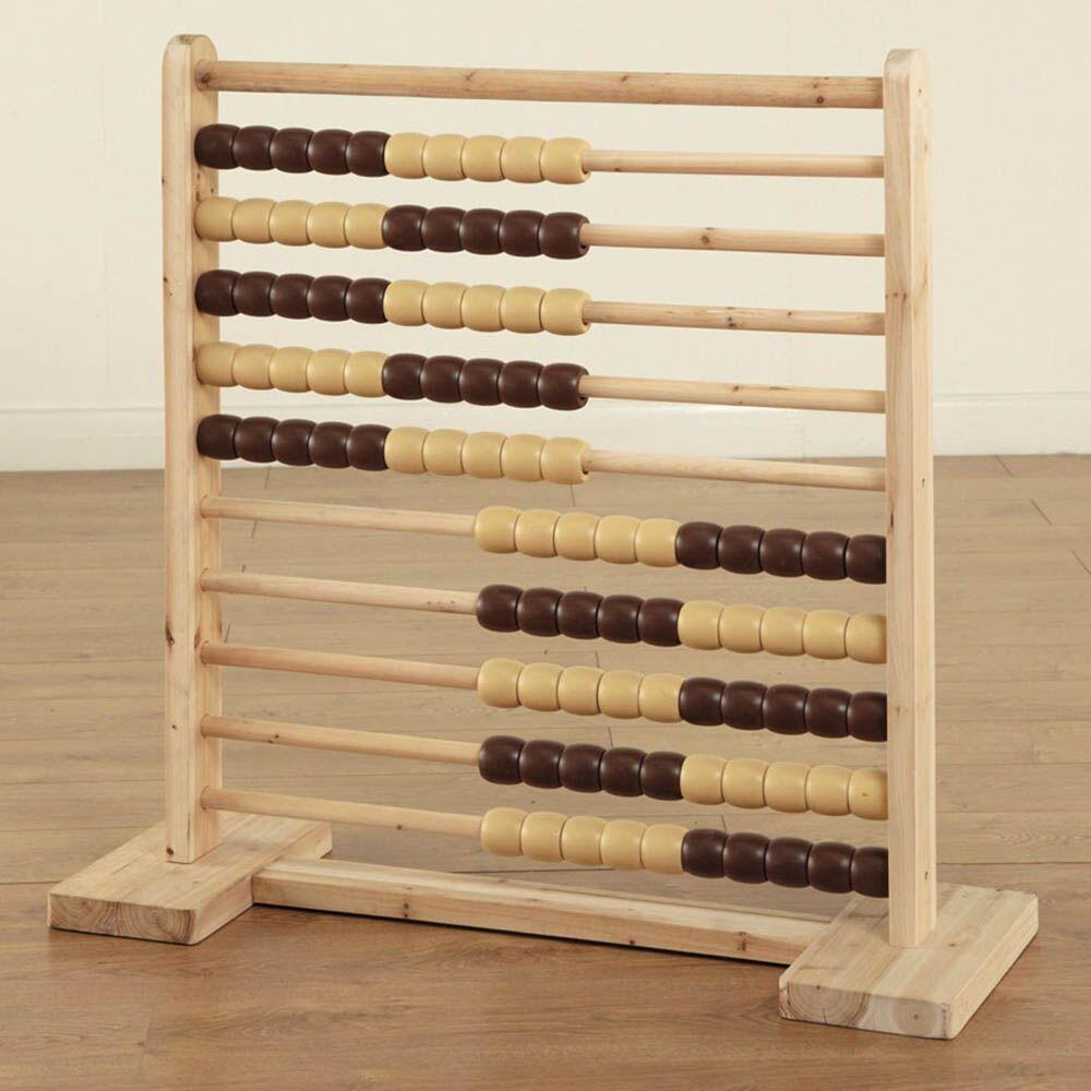Giant Wooden Outdoor Abacus