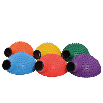 Six Colour Cannon Catch and Balls 6pk