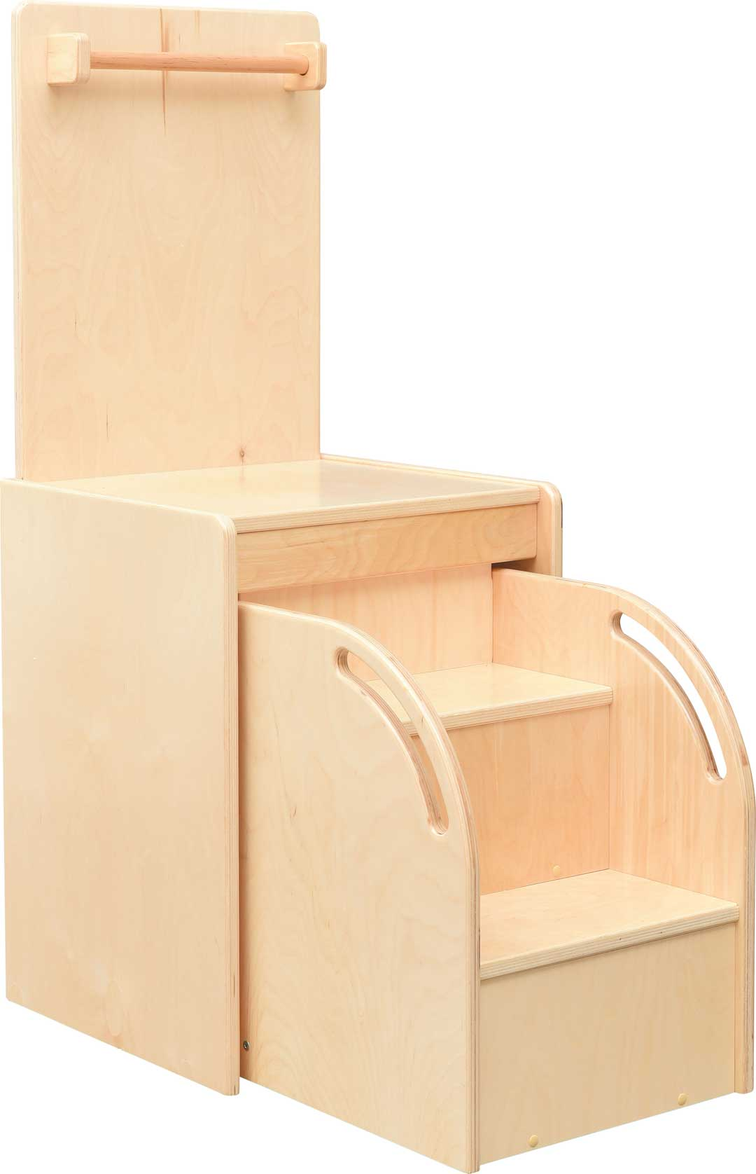Dressing Podium with Pull-out Stairs