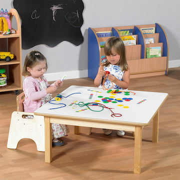 Toddler Square Table H380mm Single