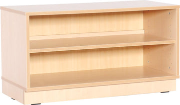 S Cabinet 1 Shelf with Plinth
