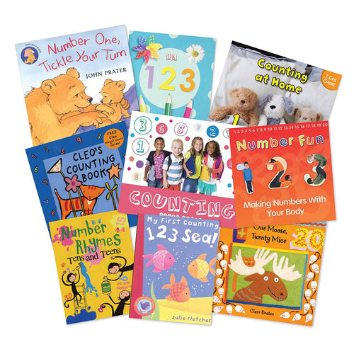Counting Songs and Rhymes Book Packs 9pk