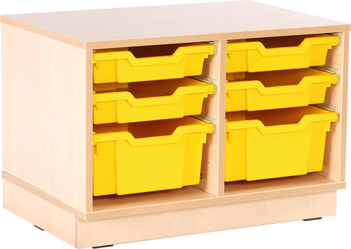 S Cabinet Small for Plastic Containers with plinth