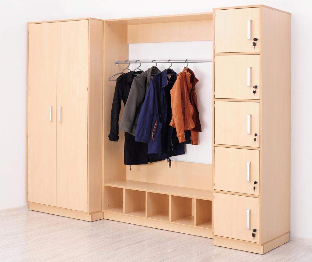 Complete Cloakroom Storage set