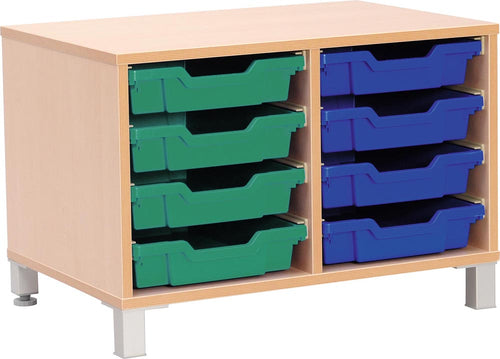 S Cabinet Small for Plastic Containers with Legs