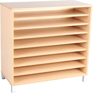 M Cabinet with 7 Shelves with Legs