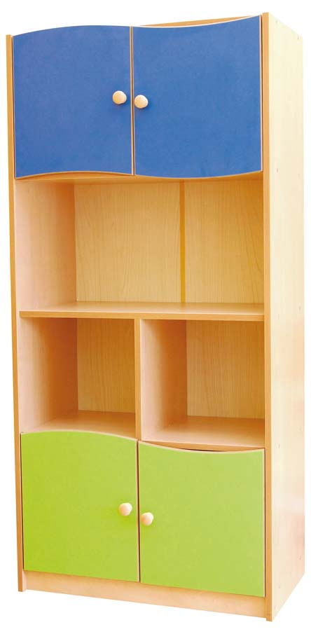 Fairytale cabinet for storage in pre school