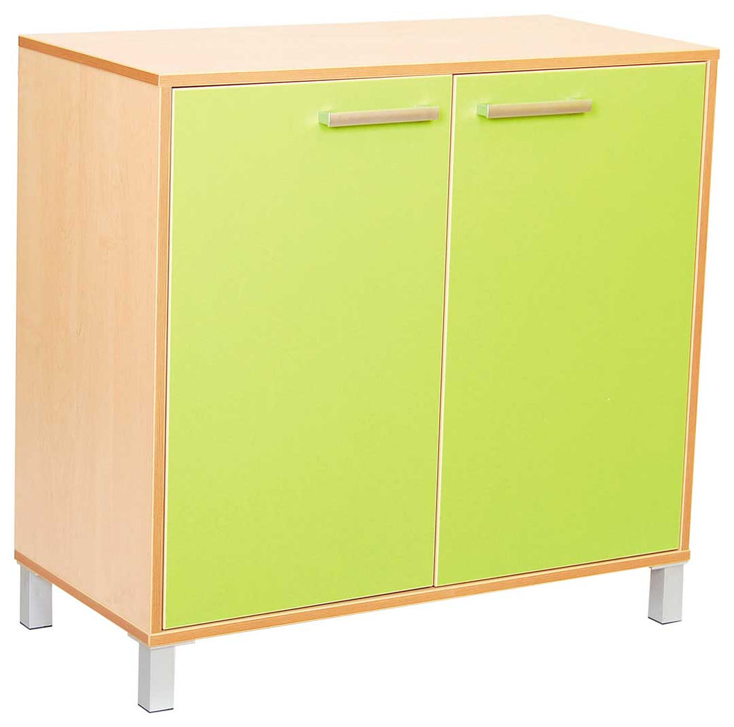 Classic Cabinet with Doors - Green
