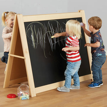 Mini Mark Makers Chalkboard Floor Easel