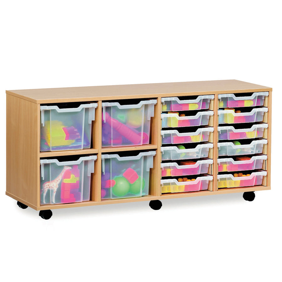 Combination Stacking  Tray Storage Unit