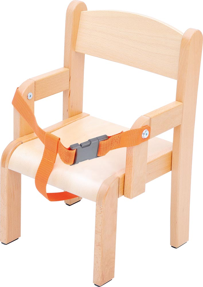 Toddler Chair with Armrest and Safety Belt - 21cm