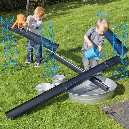 Outdoor Jumbo Guttering and Channelling Set