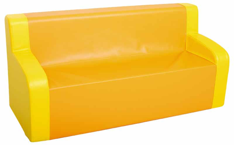 Yellow/Orange Sofa
