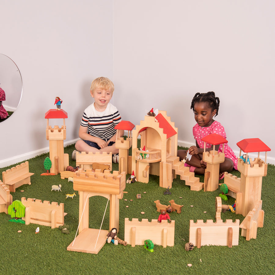 Small World Wooden Castle Set