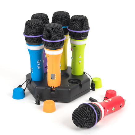 Easi-Speak Bluetooth Rainbow Microphones